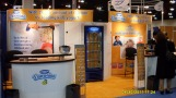 Danonino booth graphics